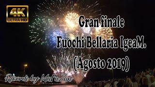 Spettacolare finale dei Fuochi Bellaria (4K)(14 Agosto 2019)
