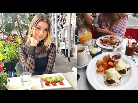 BIRTHDAY BRUNCH & SEEING FAMOUS PEOPLE IN NYC | Paige Secosky
