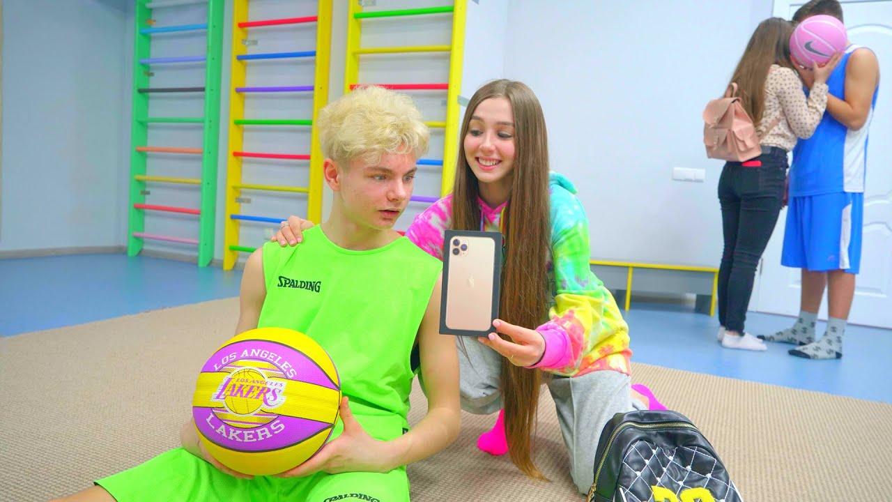¡El jugador de baloncesto pide un nuevo iPhone! ¿Por qué Diana creyó?