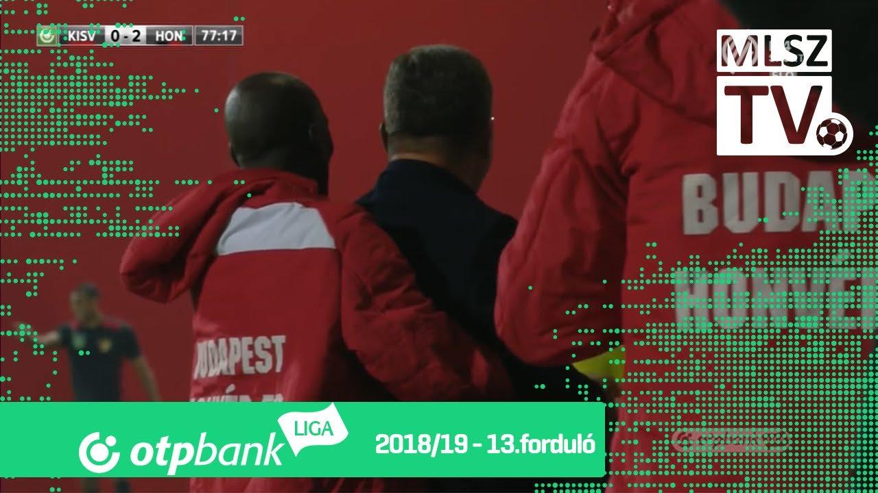 Ngog David Philippe gólja a Kisvárda Master Good - Budapest Honvéd mérkőzésen