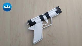 Пистолет из бумаги/Paper Gun/DIY/CRAFT