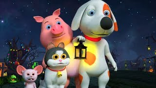 It's Halloween Night | Halloween Videos for Children | Cartoons for Kids | Little Treehouse