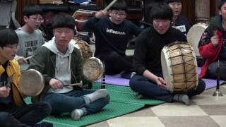 2016.12.30 해남유스호스텔 관광객 환영공연 (북…