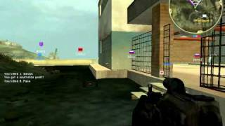 Battlefield 2 Special Forces Gameplay (Special Ops)