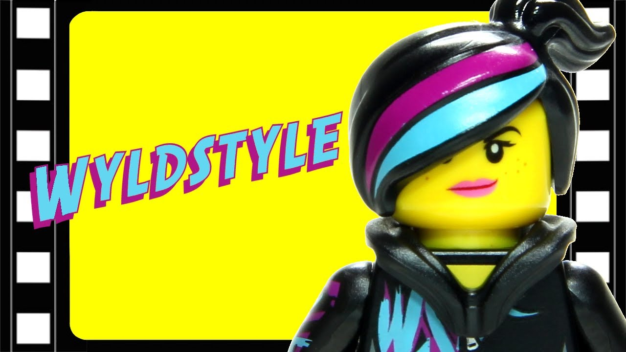 Lego Movie Wyldstyle Minifigure Comparison Review Brickqueen Youtube