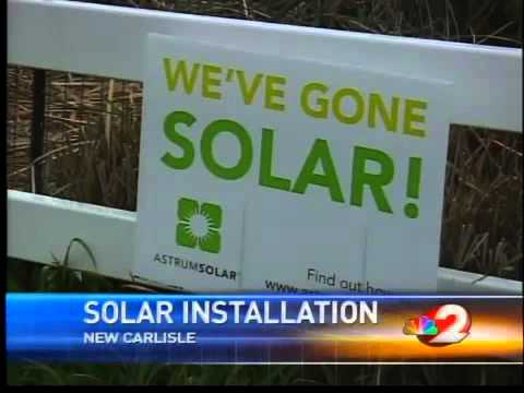 Solar panels save energy
