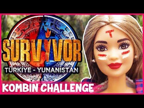 Barbie Kombin Challenge Survivor 2 Dila Kent