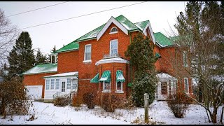 Spectacular and very large abandoned dream farmhouse in Canada. Explore #35