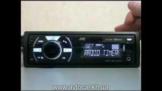 Видеообзор автомагнитолы JVC KD-X50BT