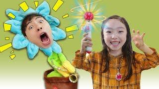 헉! 장난감이 말을 해요!! 사탕 초콜릿 마법놀이 Kids Pretend play with Magic toy - 마슈토이 Mashu ToysReview