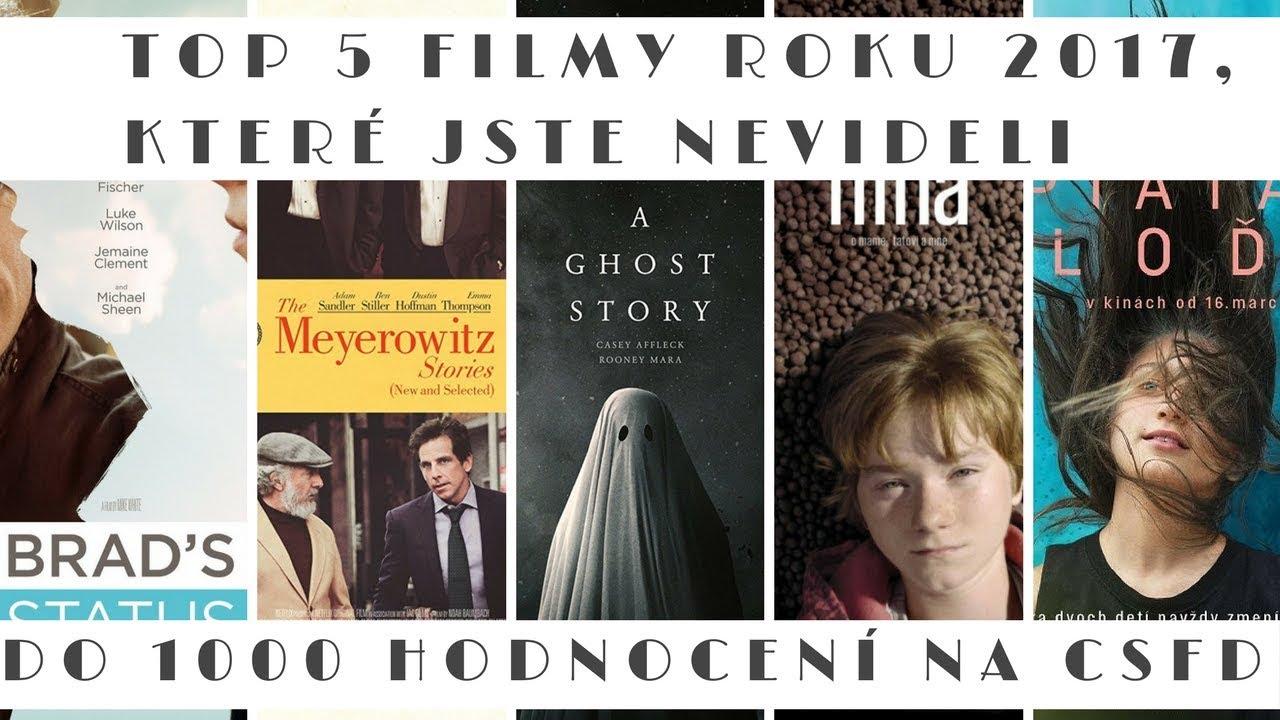 TOP 5 Filmy roku 2017, které jste neviděli (Do 1000 hodnocení na ČSFD)