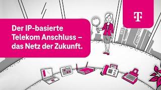 Telekom: Der IP-basierte Telekom Anschluss - das Netz der Zukunft.
