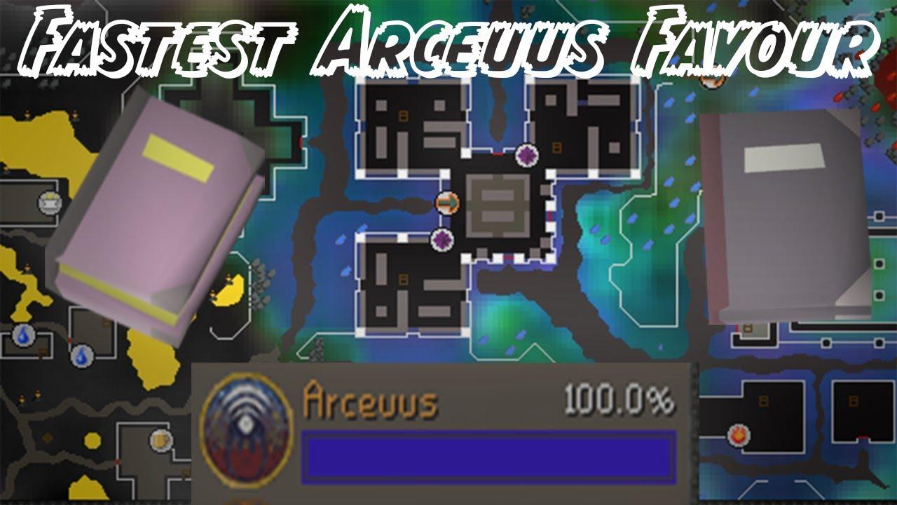 Find ANY Arceuus Book in 5 MINUTES! FASTEST Arceuus Favour [NEW METHOD]