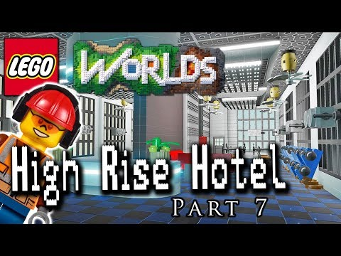 High Rise Hotel Part 7: Building a Gym: Designing and Building in LEGO Worlds