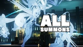 Final Fantasy XV: Pocket Edition - All Summons
