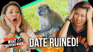[NEW SERIES] We Got Attacked By Monkeys On Valentine's Day - What Happens When