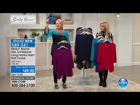 HSN | Slinky Brand Fashions 01.27.2018 - 07 PM