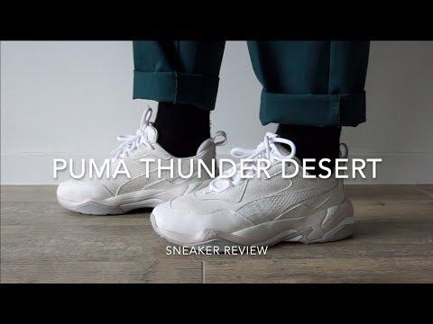 Puma Thunder Desert On Feet Review