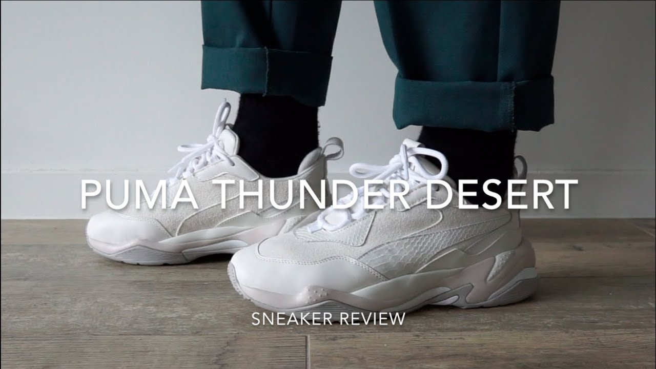 ce7264c74d00 Puma Thunder Desert On Feet Review