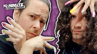 We do each other's NAILS - 10 Minute Power Hour