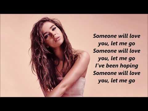 Hailee Steinfeld - Let Me Go lyrics