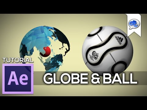 Adobe After Effects | TUTORIAL #27 : GLOBE & BALL (Bahasa Indonesia)