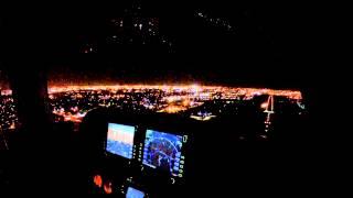 blackout landing no landing light runway 8 kfxe