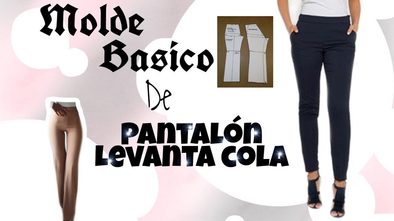 Basico De Pantalon Anatomico Levanta Cola Bertha Buritica Clase 12 Youtube