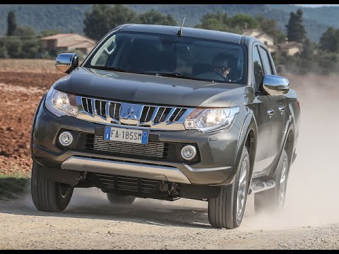 New Mitsubishi L200 2016 First Test Drive Only Sound Youtube