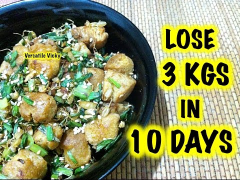 How to Lose Weight Fast 3Kg in 10 Days with Wheat Sprouts Recipe / Weight Loss Recipe