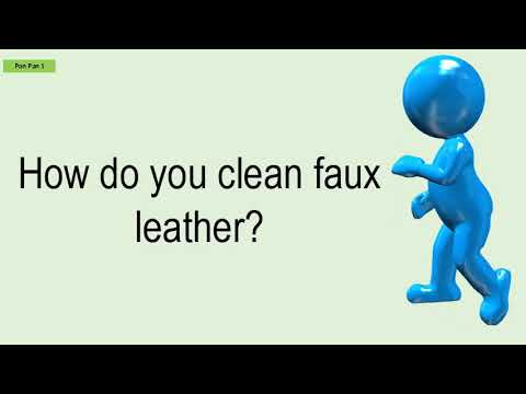 How Do You Clean Faux Leather?