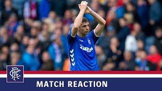 REACTION | Jon Flanagan | Rangers 2-0 St Mirren