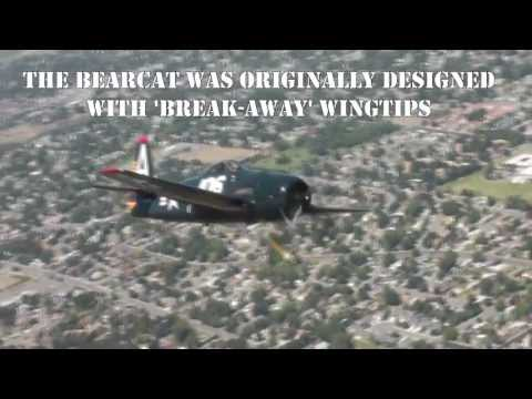 F7F Tigercat and F8F Bearcat flight to Tri-Cities, WA