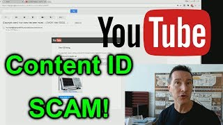 WARNING! - Youtube Content ID Phishing SCAM!