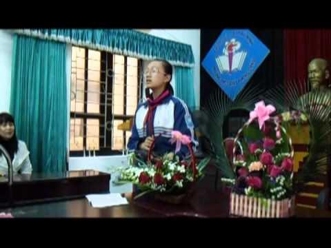 Thi cắm hoa nghệ thuật chào mừng ngày 8-3-2013 - THCS Giấy Phong Châu.