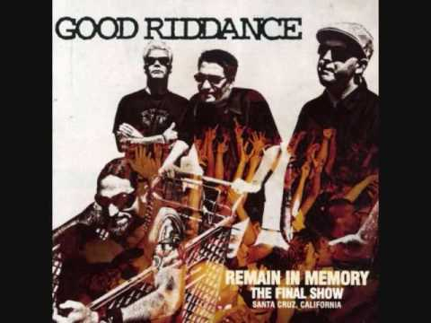 Good Riddance - A Credit to His Gender (live)
