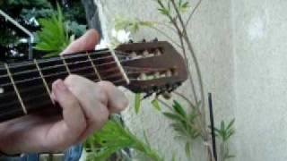 In Only Seven Days ( Queen ) - fingerstyle guitar (excerpt)