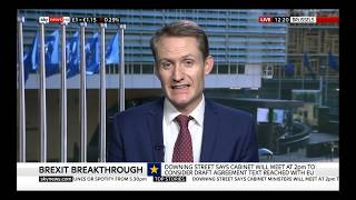 Professor Ronan McCrea discusses the Brexit deal on Sky News