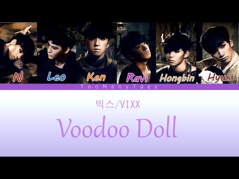 VIXX (빅스) - Voodoo Doll (지주인형) [Colour Coded Han|Rom|Eng Lyrics]