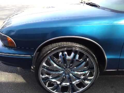 1995 chevy caprice on 26 s youtube youtube