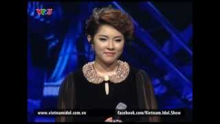 Vietnam Idol 2012 - Xin Lỗi - Bảo Trâm - MS 1 - Gala 8