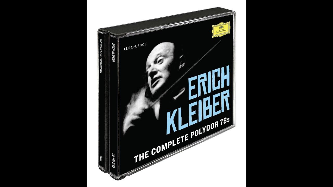 Eloquence Classics Release Batch 3, 2021 - Erich Kleiber