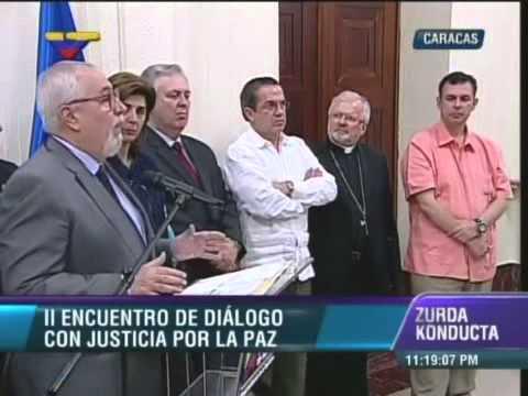 Ramón Guillermo Aveledo declara tras reunirse con Jorge Arreaza en mesas de diálogo