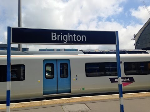 Full Journey on Thameslink (Class 700) from Brighton to London Bridge