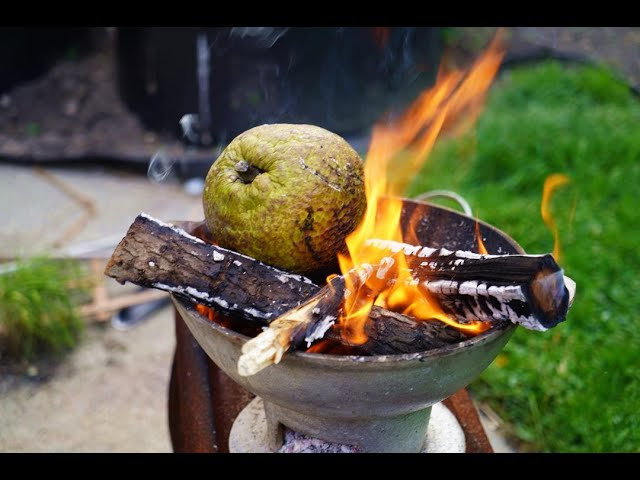 Roast Breadfruit With Saltfish | CaribbeanPot.com