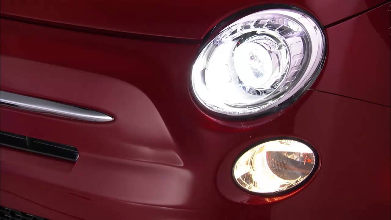 FIAT 500 2008-/> FRONT SPOT LAMP DRIVER SIDE HEADLAMP HIGH BEAM SIDELIGHT 0//S