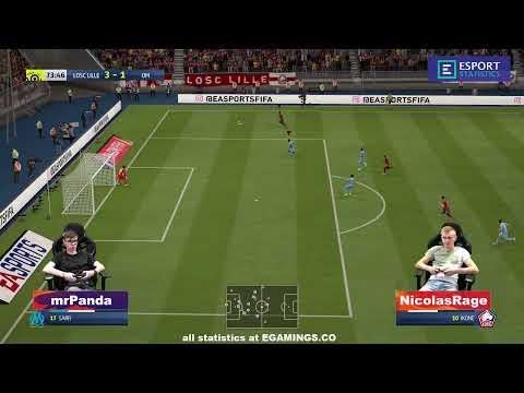 2019.10.10 ► France Cyber Stars League ► Lille (mrPanda) - Marseille (NicolasRage)