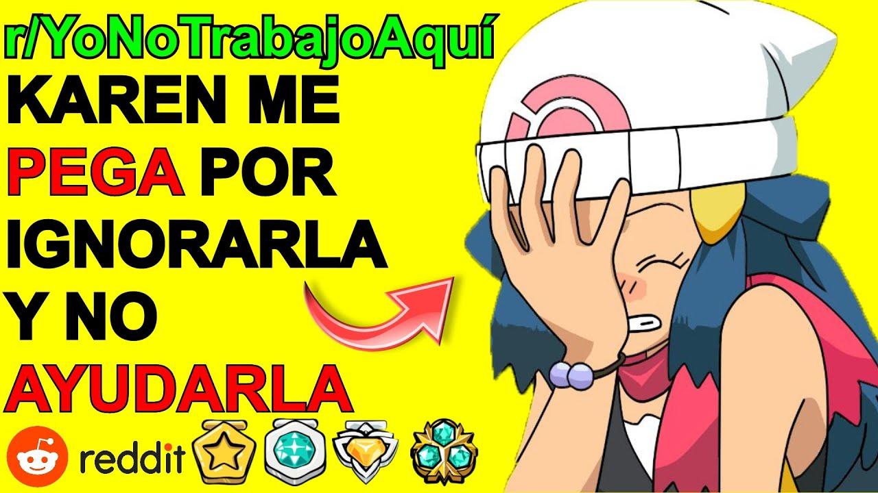 KAREN CREE QUE SOY SU EMPLEADO... YO NO TRABAJO AQUI   Reddit Español