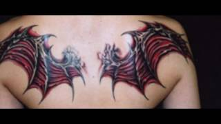 Video demon wing tattoo designs on back download MP3, 3GP, MP4, WEBM, AVI, FLV Agustus 2018