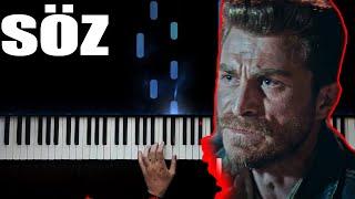 Söz  - Vatan Sağolsun - Piano by VN